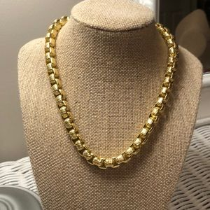 Sarah Coventry Gold Link Necklace